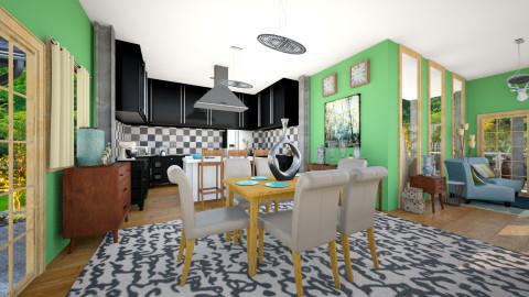 Modern Rust - Rustic - Kitchen - by CreativeCE