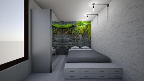 dormitor Flori - by anamariadumitrascu