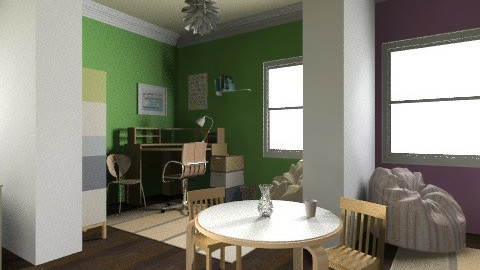Twins Room - Modern - Office - by moonissa