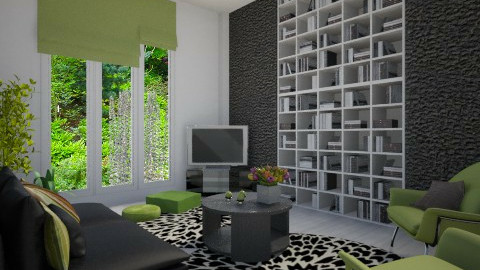 Green things - Modern - Living room - by Tuija