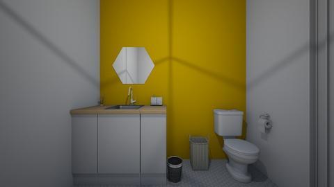 modern bath - Bathroom - by aivlys2001