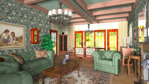 Morning dream - Classic - Living room - by Bibiche