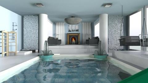 indoor pool - Glamour - by sheryllynn23