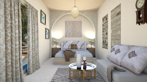 Oriental Room - Vintage - Bedroom - by zayneb_17