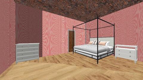 cali bedroom - Bedroom - by jannahoman