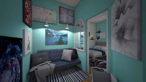 Artist Hallway - by Faybulous23