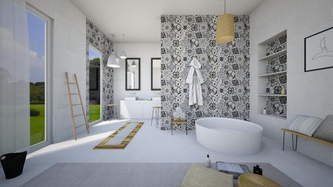 Bathroom 2 - Bathroom - by ArtHousedeco