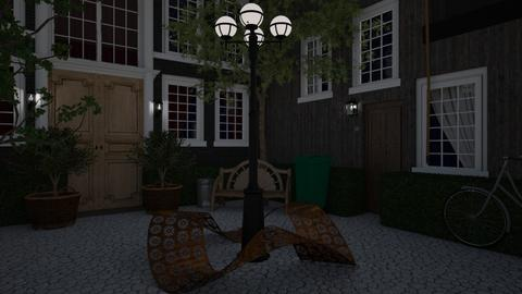 Little courtyard - Classic - Garden - by HenkRetro1960