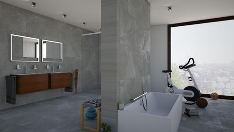 Pure - Bathroom - by Remixraum