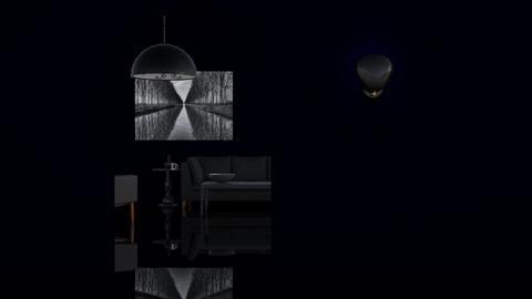 Noir Noir Noir - Minimal - Living room - by HenkRetro1960