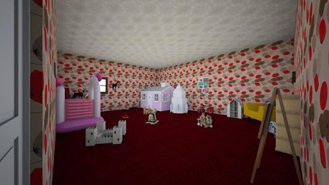 Red Velvet _set_ - Feminine - Kids room - by cupcake oncer