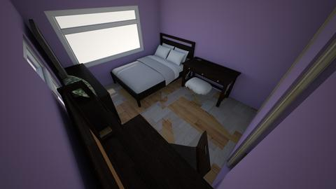 My dream bedroom  - Minimal - Bedroom - by Tay1331
