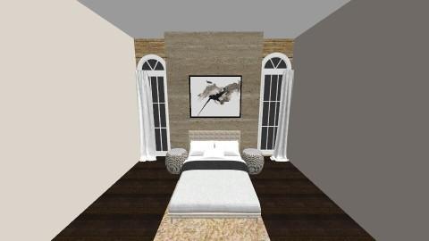 Tan Bedroom  - Bedroom - by jessicabaucke