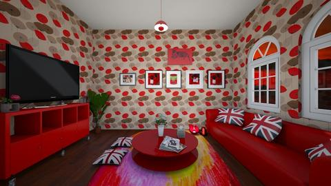my brother desing - Living room - by algeria16