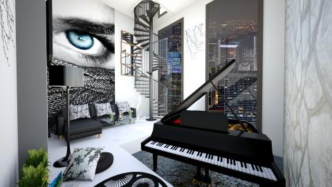 W&B  - Living room - by Kesyieka Qimieka
