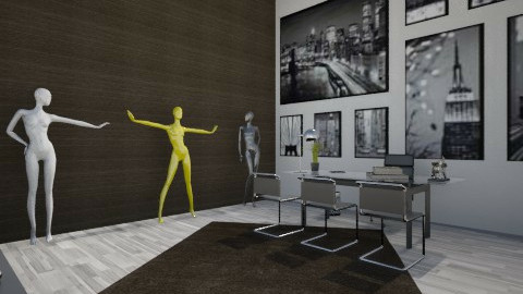Lime City - Modern - Office - by xcgirl