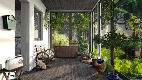 Jungle_Garden - by ZuzanaDesign