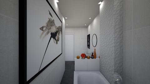 Grys small Bathroom2 - Classic - Bathroom - by Achazia74