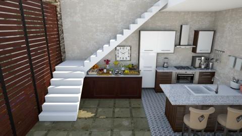 Casa Bela - Glamour - Kitchen - by Mariesse Paim
