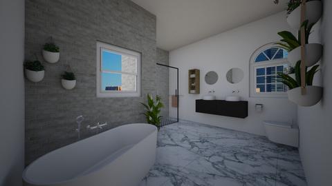 badkamer - Modern - Bathroom - by tuttebellie2