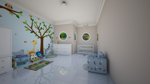 Nursery - Minimal - Kids room - by Tuubz