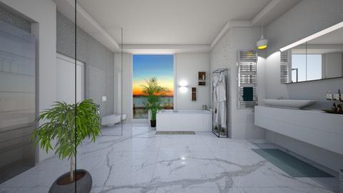 Bathroom  - by Gre_Taa