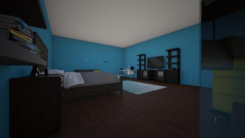 my ok bedroom - Bedroom - by Skullthesnake