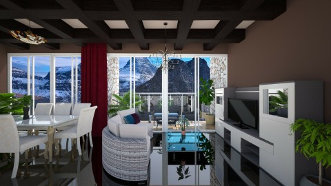 CanadiasPeacely - Living room - by anirah