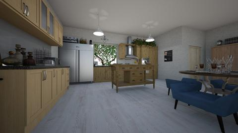IP Artisan Kitchen - Kitchen - by flybird