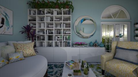 Maxim Living - Living room - by ElleP