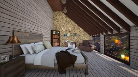Rustic Bedroom - Rustic - Bedroom - by Design_CG