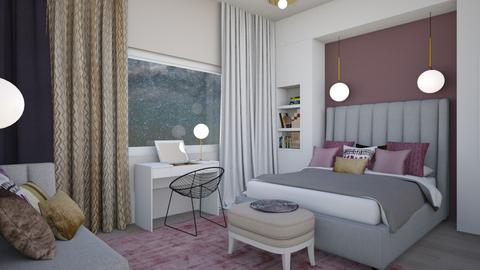 Master bedroom - Bedroom - by chania