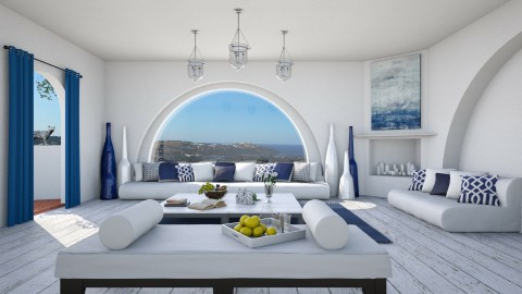 Greek Living - Living room - by Ryan_22_