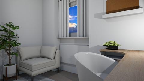 My dreamed room - Bedroom - by monikaskawinska