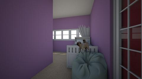 Rubyroom - Kids room - by Millieunicorn