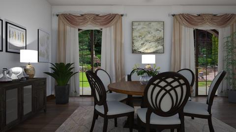 SantaBarbaraStyle - Dining room - by Isabella_Palmeri