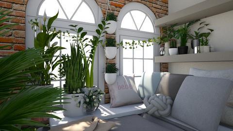 urban jungle - Bedroom - by MagiC_FetuS