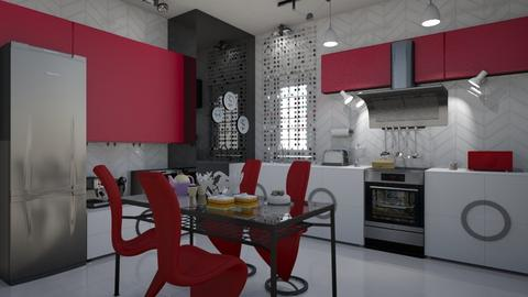 1218 - Modern - Kitchen - by matina1976