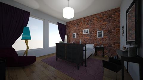 purple room - Bedroom - by Jojo Bear