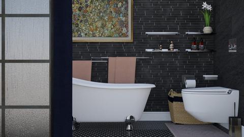 nero e bianco - Bathroom - by HenkRetro1960