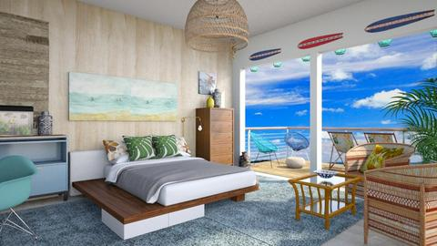 Surfs Up - Bedroom - by lauren_murphy