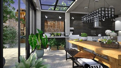Urban Green - Eclectic - Kitchen - by evahassing