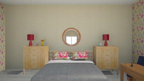 ilk calismam - Bedroom - by Melis Sevim
