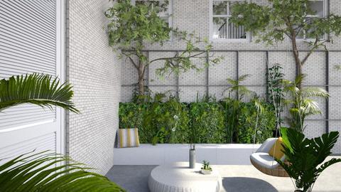 California Courtyard - Garden - by GinnyGranger394