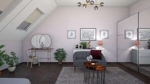 G - Modern - Bedroom - by maja7591