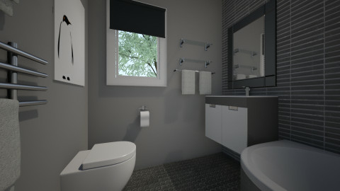 For vgnmail II - Eclectic - Bathroom - by Theadora
