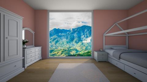 girls bedroom - Bedroom - by ckjewell