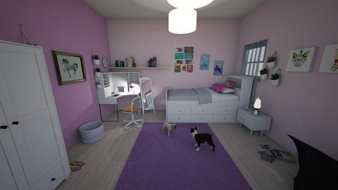Girly - Kids room - by Kaylee Mahr_626