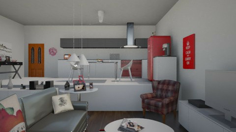 PRB - Modern - Kitchen - by nathaly_cardoso