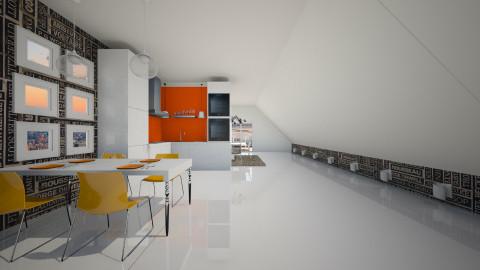 flat1 - Kitchen - by maaiica